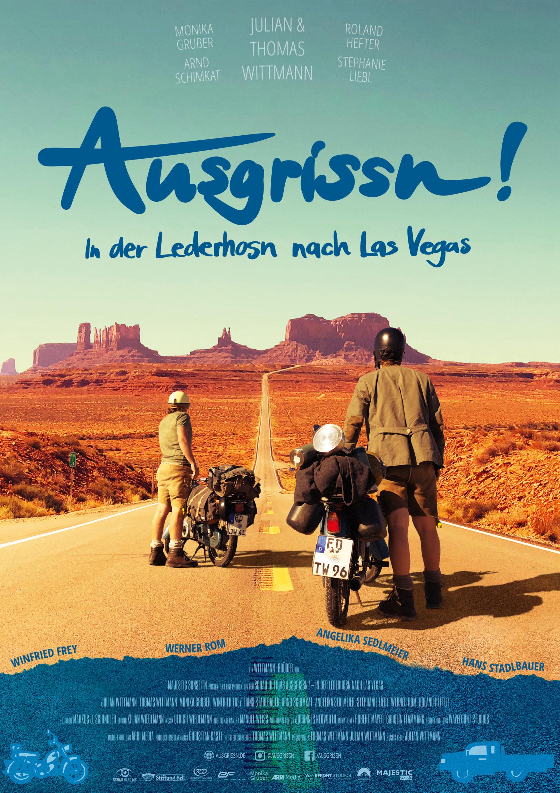 Poster Ausgrissn! In der Lederhosn nach Las Vegas